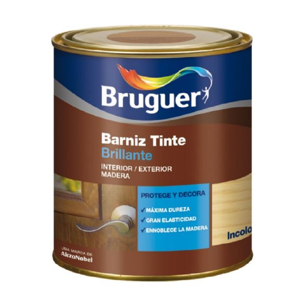 BARNIZ BRILLANTE NOGAL 750ML