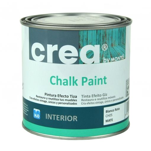 CHALK PAINT TURQUESA VINTAGE 500ML