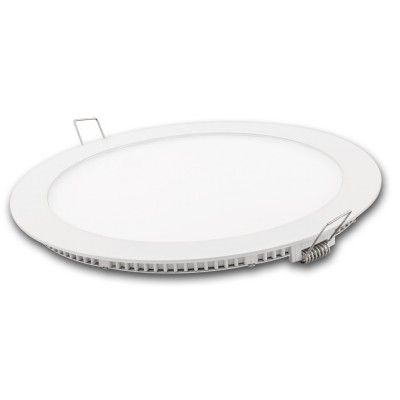 DOWNLIGHT LED REDONDO BLANCO 18w. FRIA