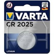 MICROPILA LITIO CR2025 3V VARTA