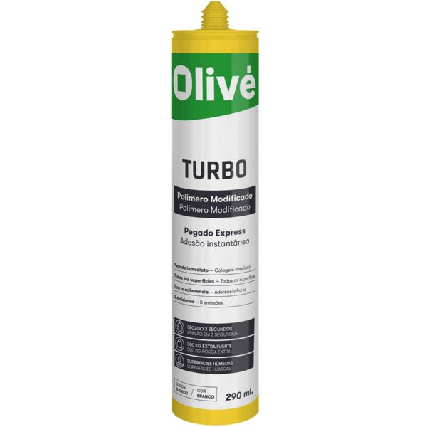 OLIVE TURBO BLANCO POLIMERO MODIFICADO 300Kg ES-PT C290ml