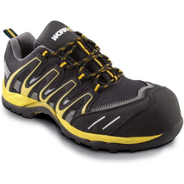 ZAPATO SEG.WORKFIT TRAIL AMARILLO T 43